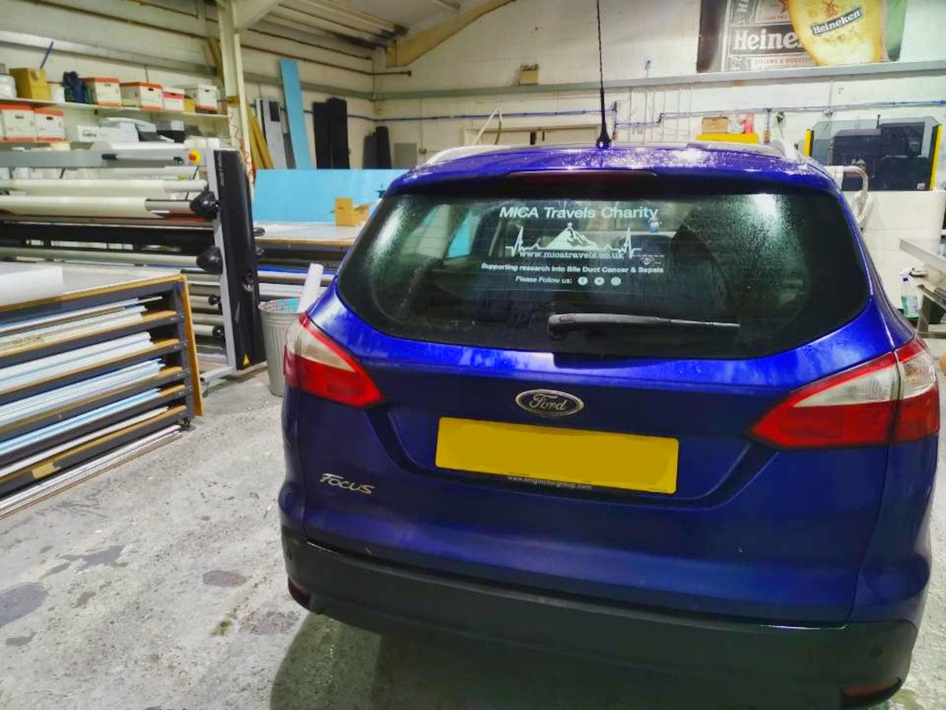 Car window Sticker