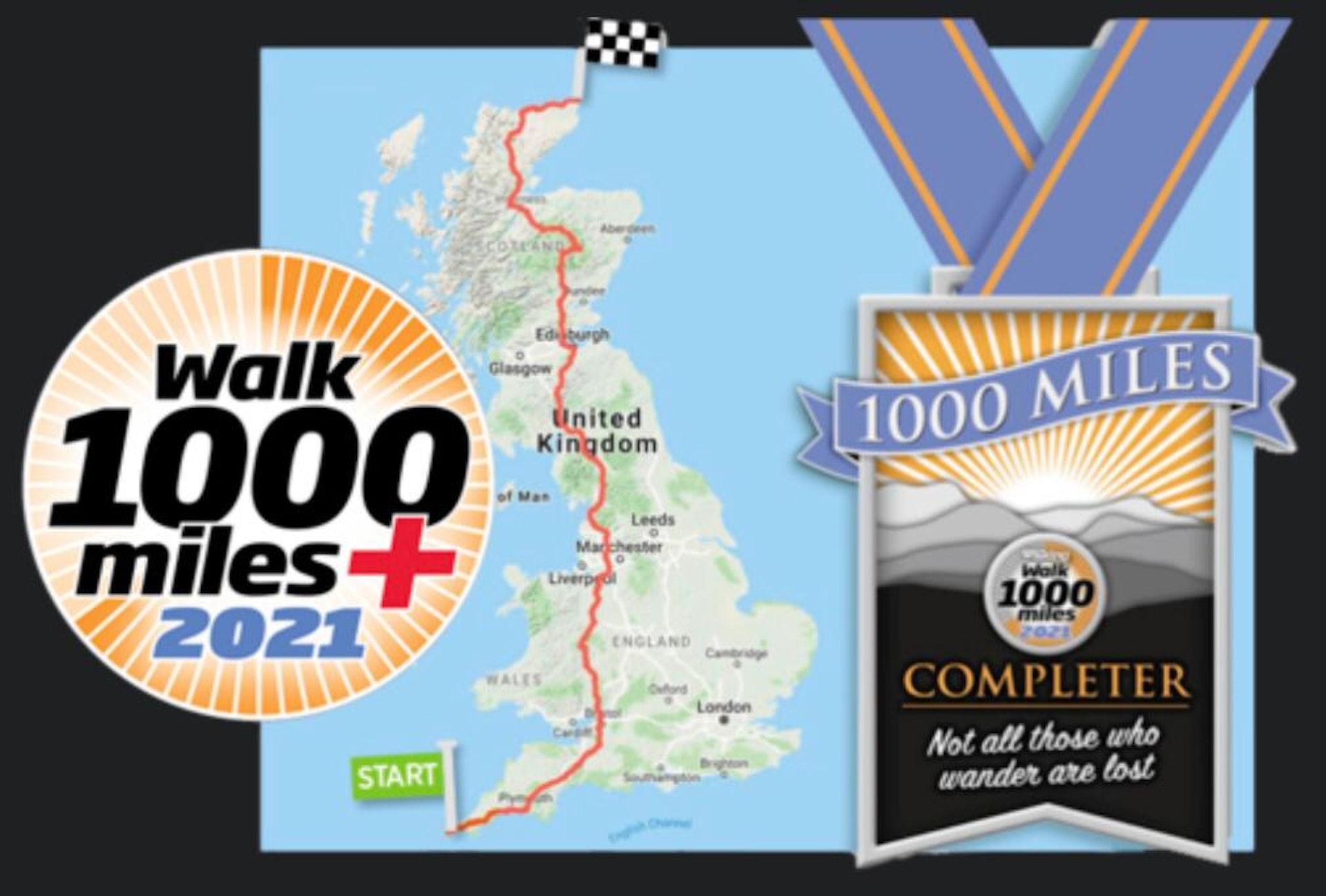 1000 Mile Challenge