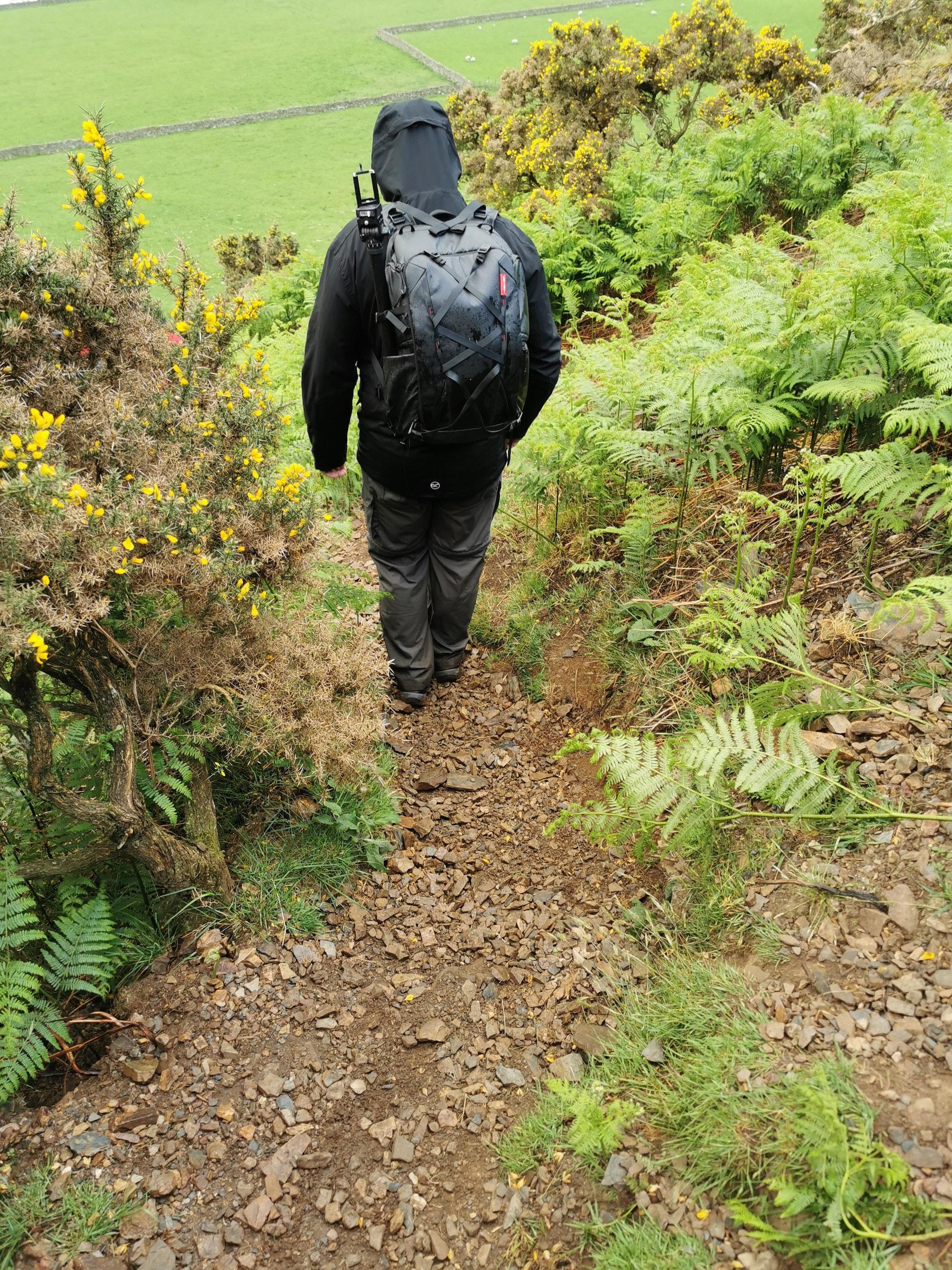 Descent into Mungrisdale