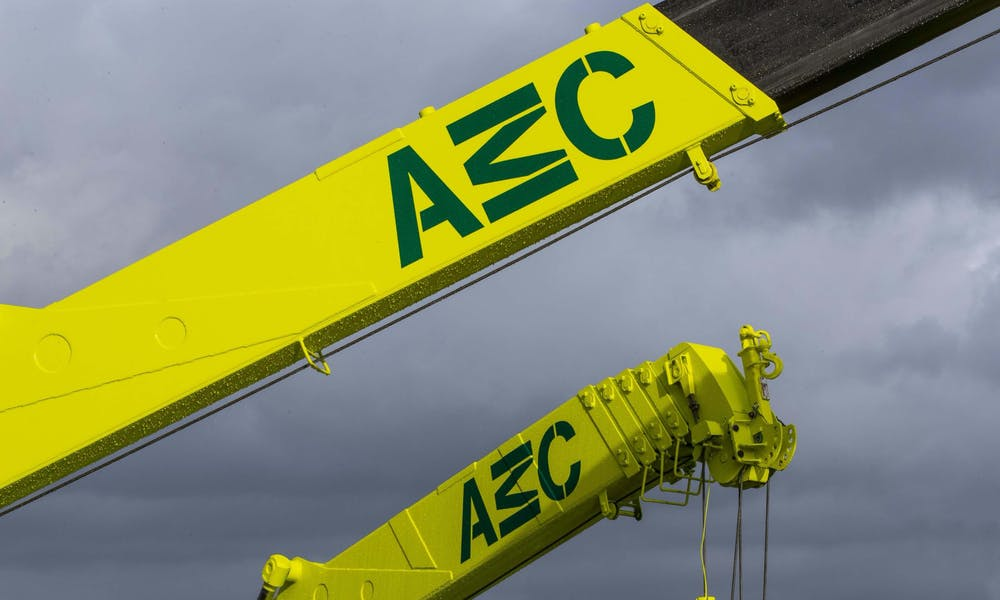 AMC branded lifting equipment