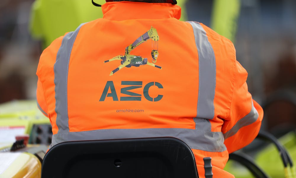 AMC high vis jacket