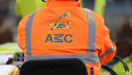 AMC high vis jacket