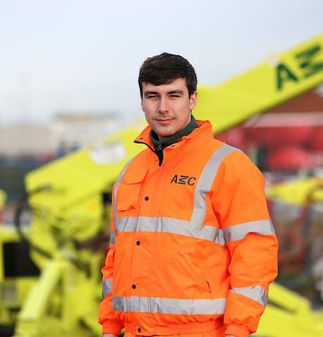 Steve Foster Apprentice Engineer