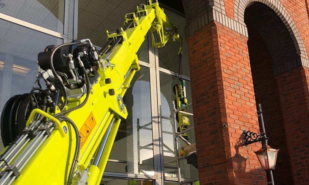 Birmingham Council Case Study C6 Electric crane
