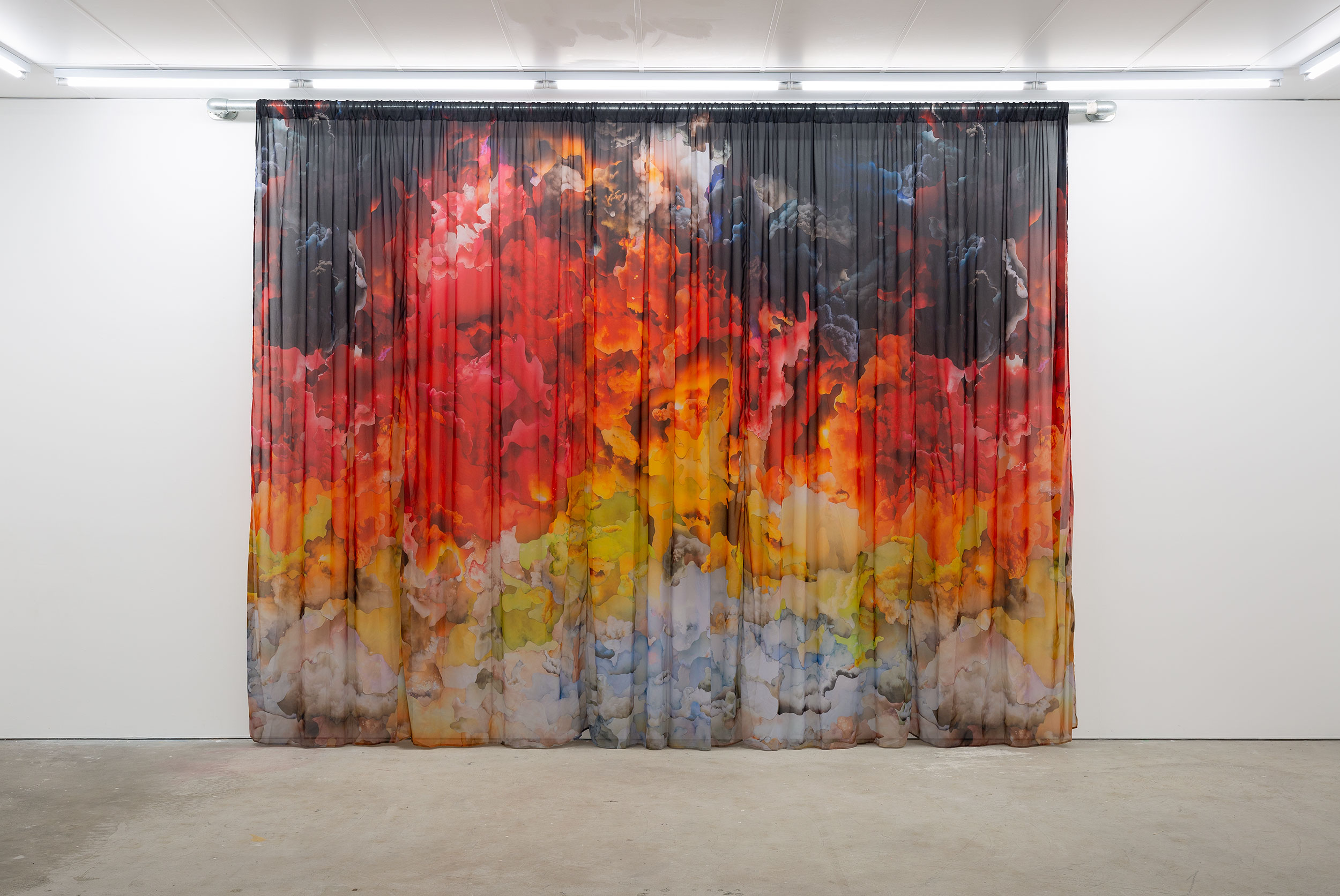 Installation view of Octopus 21: On Fire, 2021, featuring work by Jemima Wyman at Gertrude Contemporary. Photo: Christian Capurro.