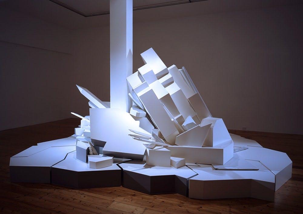 Damiano Bertoli, Continuous Moment, 2003. Courtesy of the artist.