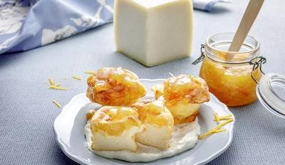 Cheese soufflè con Brigante