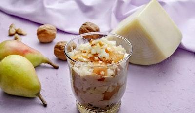 Yogurt con le pere, Brigante senza Lattosio e noci