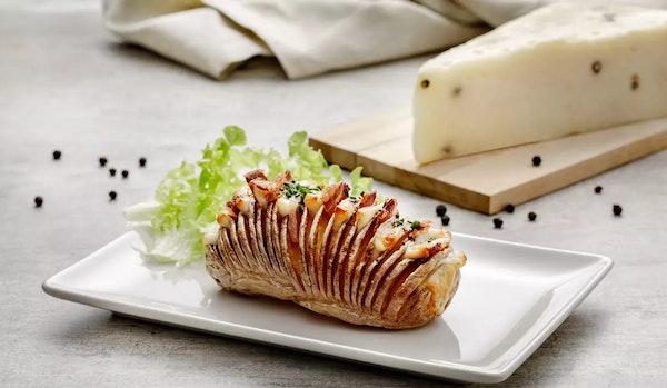 Hasselback potatis con Pecorino Pepato