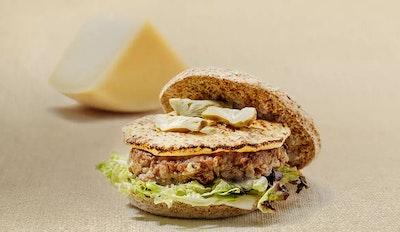 Hamburger di agnello e Medoro