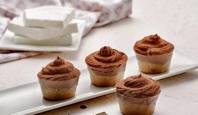 Cheesecake di Ricotta di Pecora senza lattosio al Cioccolato