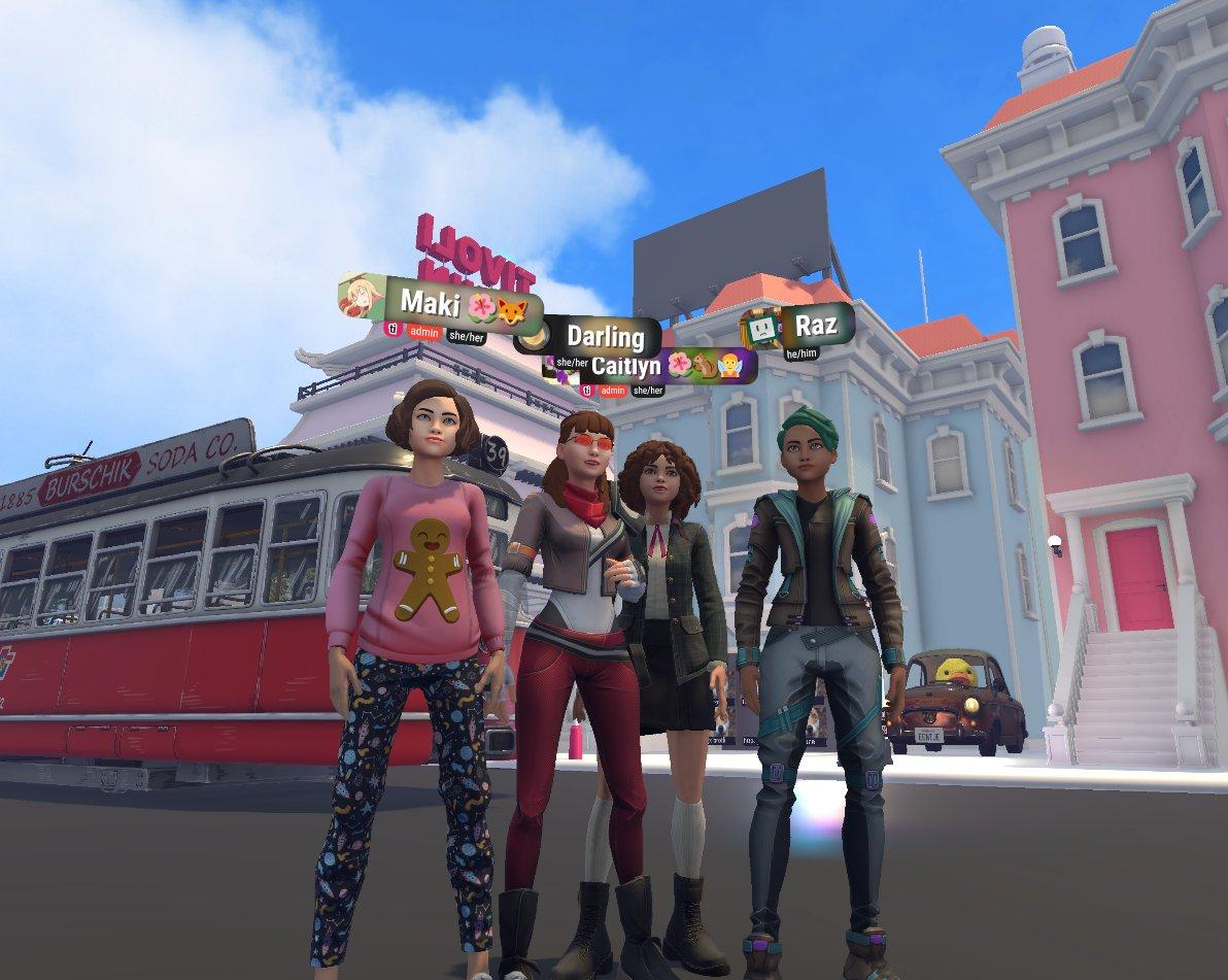Ready Player Me avatars in Tivoli Cloud VR