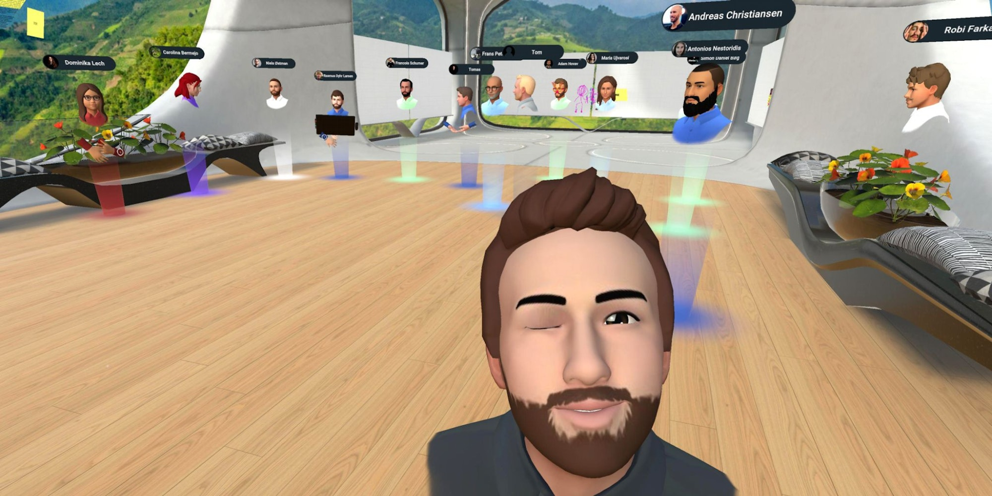 Host Meetings in Virtual Reality With These Apps And 3D Avatars From Ready Player Me