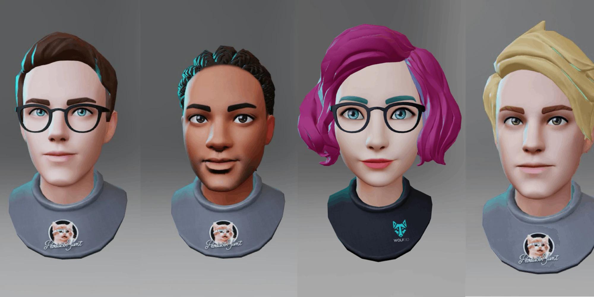 ReadyPlayerMe 3D avatars for Mozilla Hubs
