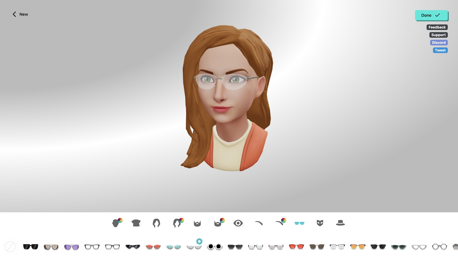 Customize your Ready Player Me Mozilla Hubs Avatar