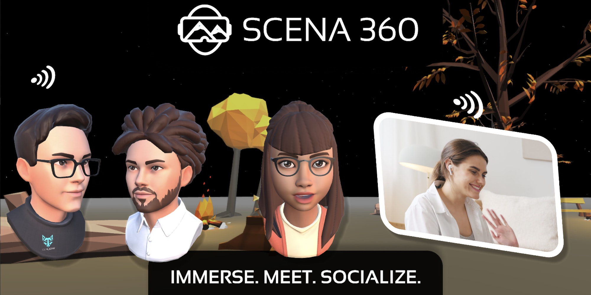Scena 360 Fights With Zoom Fatigue Using Ready Player Me Avatars