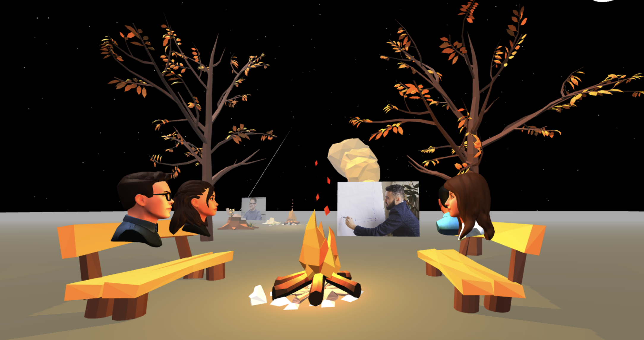 Scena 360 Ready Player Me Avatars Fireside Chat