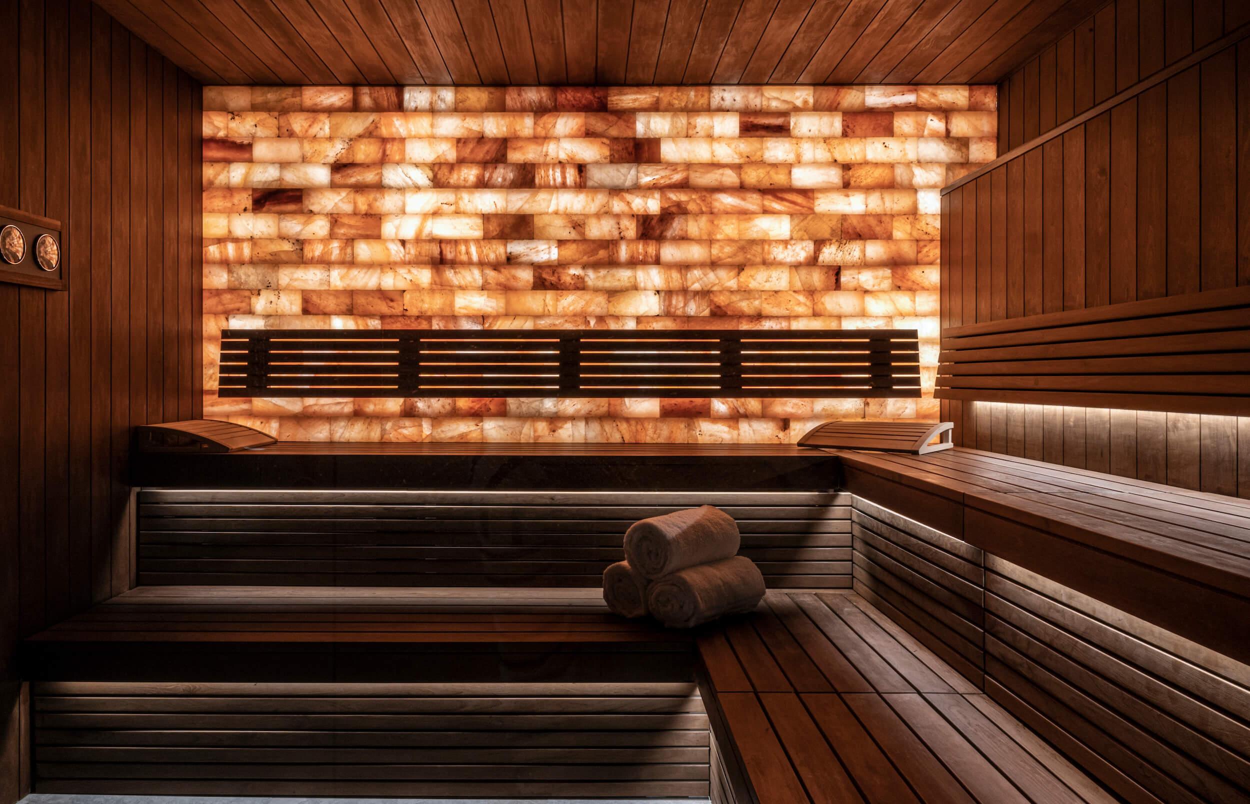 Himalayan Salt Sauna
