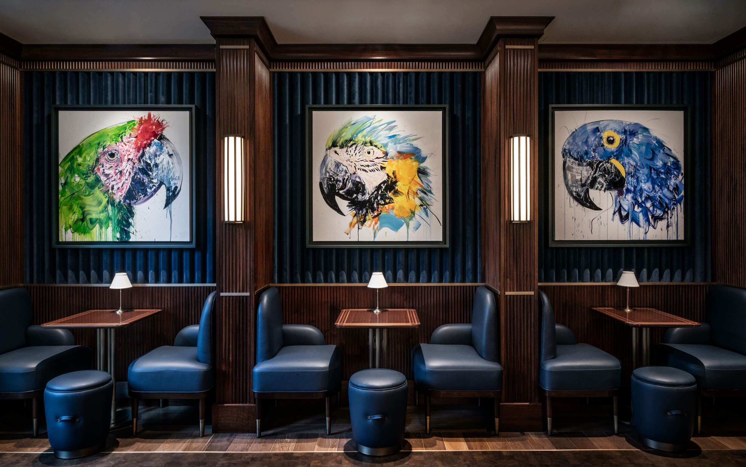 Culfords Bar with works by Dave White
