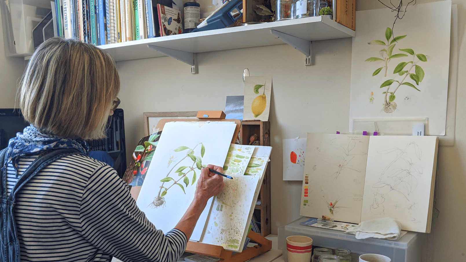 Watercolour Workshop at Chelsea Physic Garden