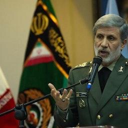 وزير الدفاع الإيراني العميد أمير حاتمي، طهران، 18 مايو/أيار 2020. المصدر: وكالة أنباء إرنا