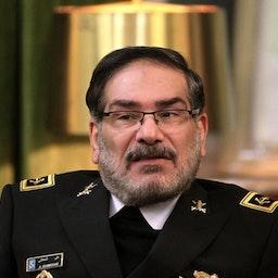 أمين المجلس الأعلى للأمن القومي الإيراني علي شمخاني. طهران، ايران. 8 مارس/آذار 2020 المصدر: اعتماد اون لاين