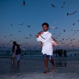 Indian fishermen in Salalah, Oman on Dec. 20, 2009 (Photo via Getty Images)