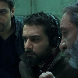 A scene from the first season of Gando, which debuted in 2019. Tehran, Iran. (Photo via Farau news site)