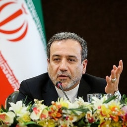 Iranian Deputy Foreign Minister Abbas Araqchi speaks at a press conference in Tehran, Iran on July 7, 2019. (Photo by Hamed Malkpour via Tasnim News Agency)