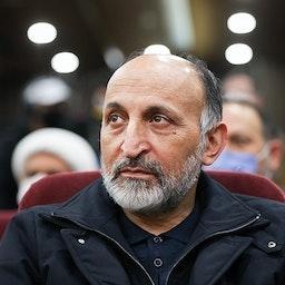 Former Quds Force deputy commander Mohammad Hosseinzadeh Hejazi in Tehran, Iran on Jan. 4, 2021. (Photo by Amin Ahouei via Tasnim news agency)