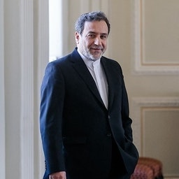 Iran's top nuclear negotiator Abbas Araqchi at foreign ministry headquarters in Tehran. August 31, 2020. (Photo by Foad Ashtari via Tasnim News Agency)