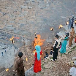 ضیافت نوروزی کردهای ایران در پالنگان؛ ایران، ۲۰ اسفند ۱۳۹۵/ ۱۰ مارس ۲۰۱۷ (عکس از کیوان فیروزی/ خبرگزاری تسنیم)