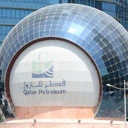 Qatar Petroleum's headquarters in Doha. July 4, 2017. (Photo via Getty Images)
