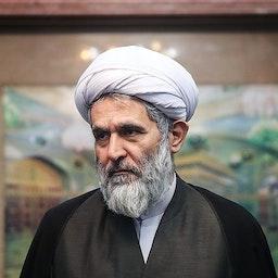 IRGC Intelligence Organization head Hossein Taeb at a function in Tehran on June 24, 2018. (Photo by Hamed Malekpour via Tasnim News Agency)
