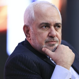 Iranian Foreign Minister Mohammad Javad Zarif attends a conference in Antalya, Turkey on June 19, 2021. (Photo via Getty Images)