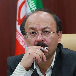 Iranian philosophy professor Bijan Abdolkarimi in Tehran, Iran on May 3, 2021. (Photo via IRNA News Agency)