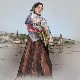 """شعار الحملة الكردية على وسائل التواصل الاجتماعي """"إسمي والدتي"""". (المصدر: هلالة رافي/فيسبوك)"""