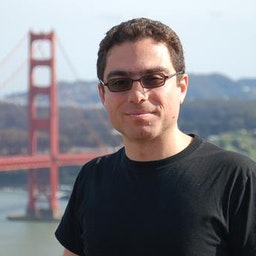 Iranian-American businessman Siamak Namazi, who has been held in Iran since 2015, at California's Golden Gate Bridge. Photo date is unknown. (Family handout)