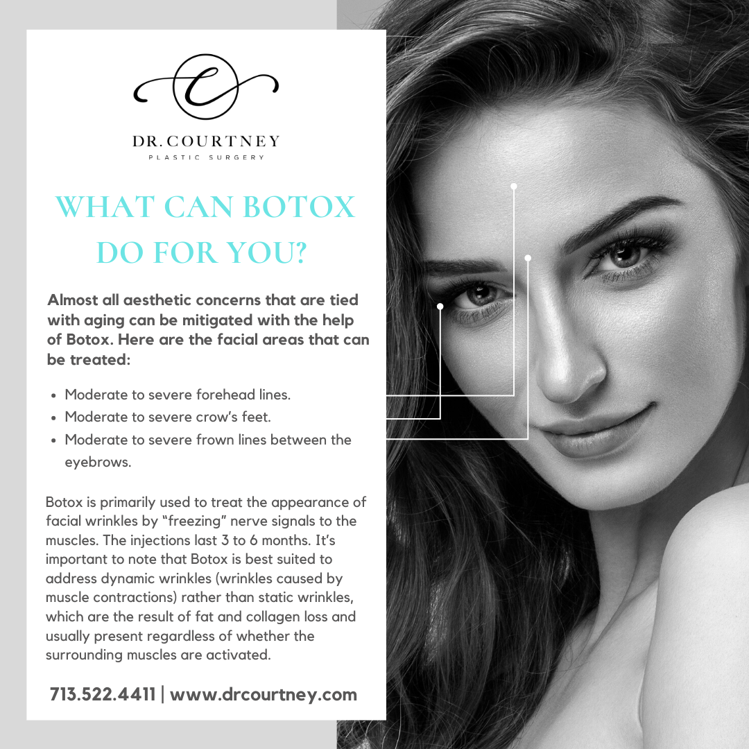 Dr. Courtney Plastic Surgery Blog | What can Botox do for you?