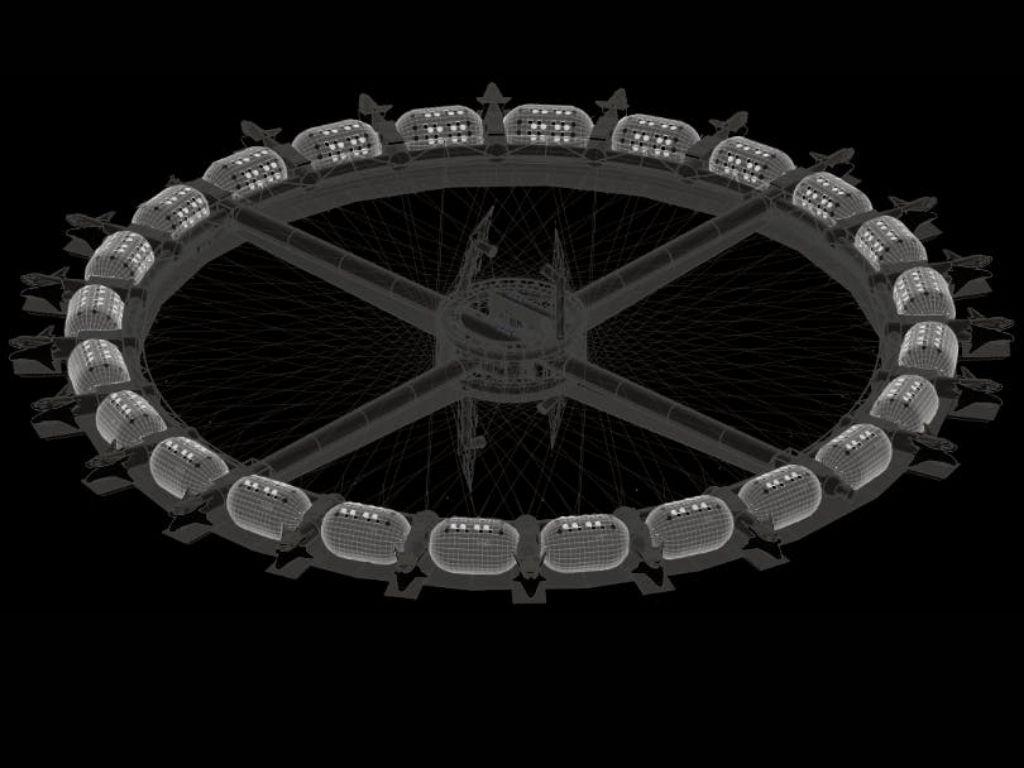 Voyager Station's Habitation Ring (Image Credit: Voyager Station)