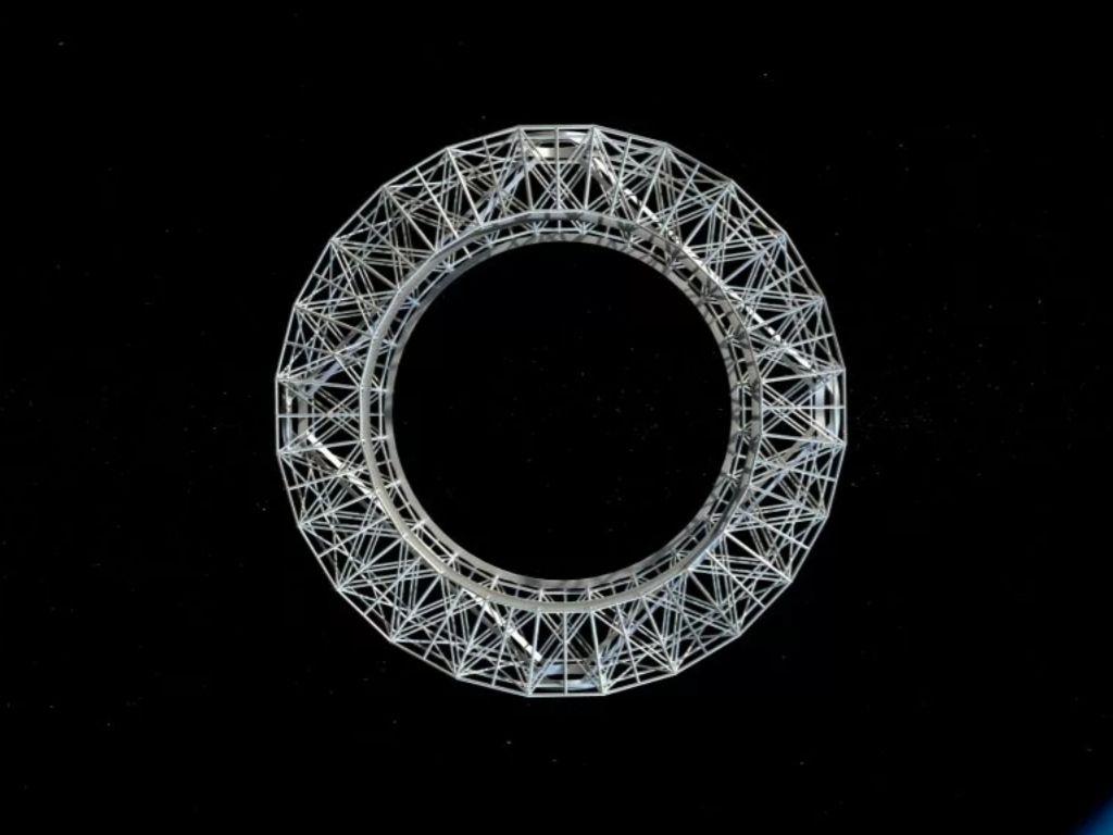 Voyager Station's inner ring or docking hub (Image Credit: Gateway Foundation)