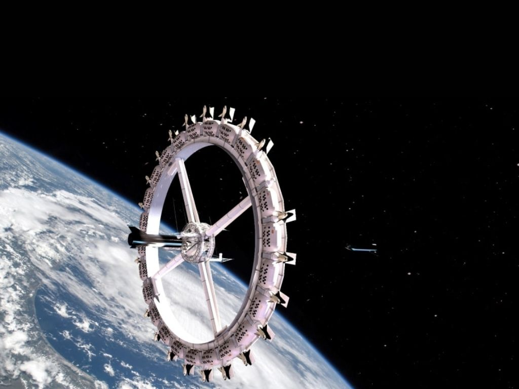 Voyager Station Space Hotel (Image Credit: Orbital Assembly Corporation)