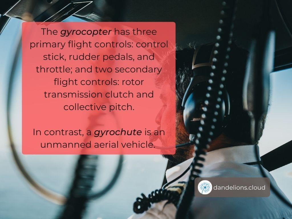 Does a Gyrochute need a pilot?