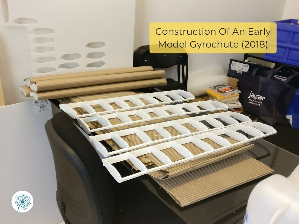 Construction of an early model Gyrochute, 2018