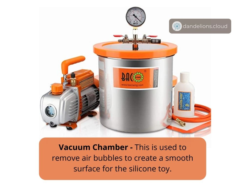 Vacuum Chamber to remove air bubbles