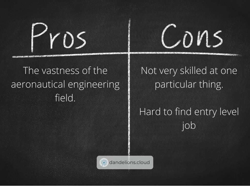 The pros and cons of being an aerospace engineer