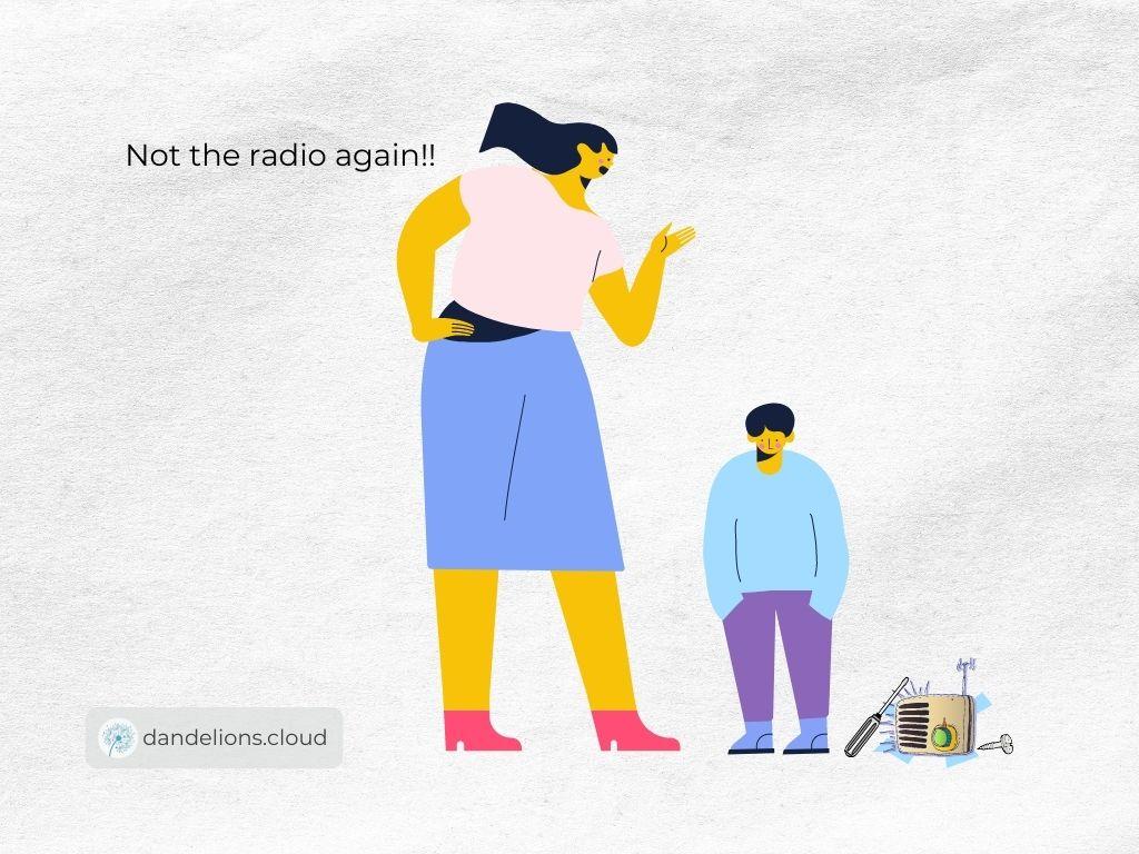 Not the radio again!