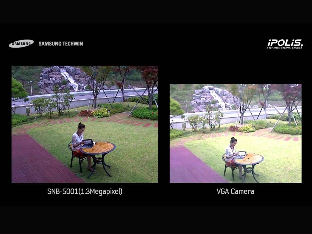 1.3 MP vs VGA quality | Image credit: SamsungSecurity1