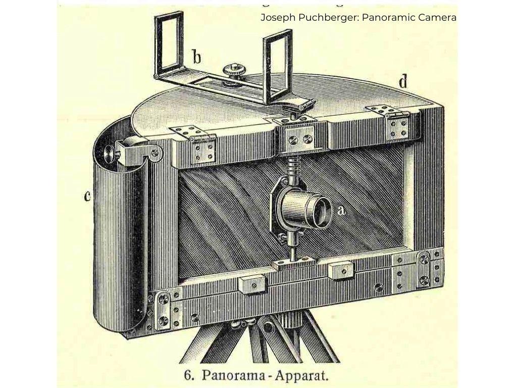 Joseph Puchberger: Panoramic Camera 1843 | Image Credit: mediartinnovation