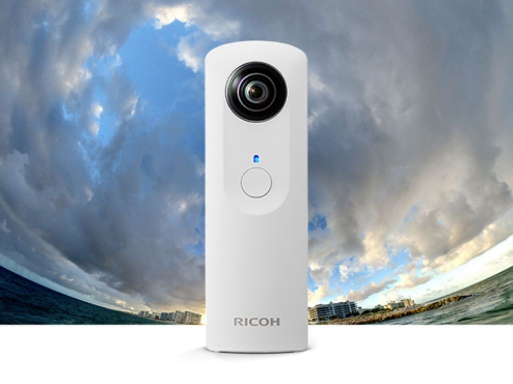 Ricoh Theta - The first camera that can take spherical 360-degree panoramas | Image Credit: ExtremeTech